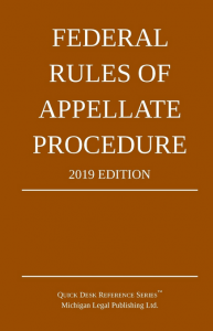 2019 Federal Rules of Appellate Procedure