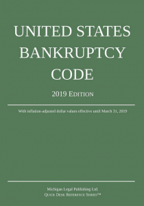 2019 United States Bankruptcy Code