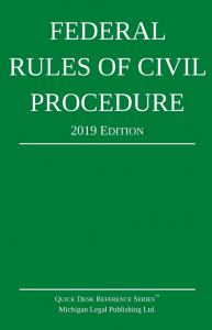 2019 Federal Rules of Civil Procedure Booklet