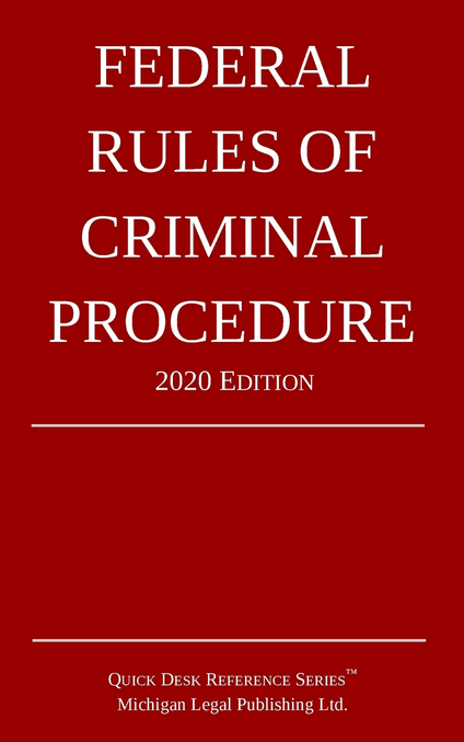 2020 Federal Rules of Criminal Procedure