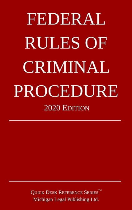 2020 Federal Rules of Criminal Procedure
